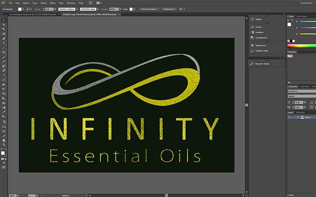 infinity-essential-oils-logo-graphic-design