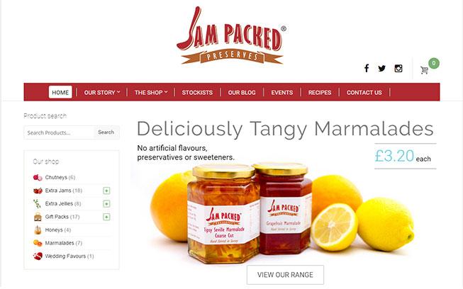 jam-packed-preserves-website-design