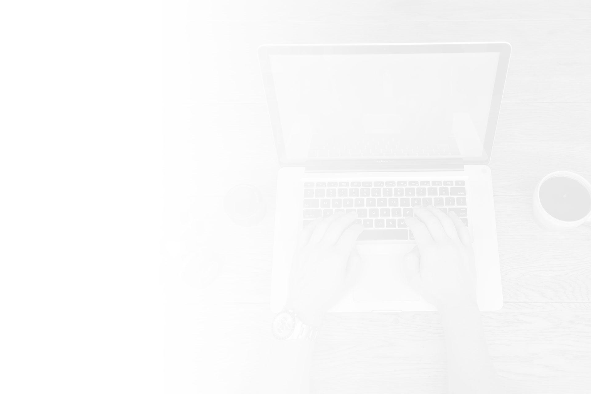 we built your website background